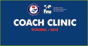TYF-FINA COACH CLINIC - İSTANBUL 2018