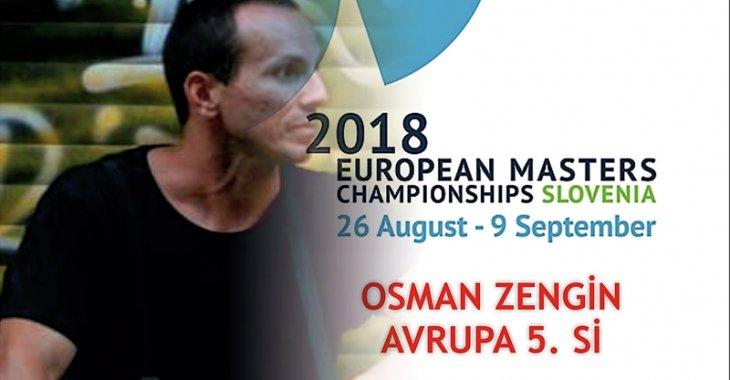 OSMAN ZENGİN AVRUPA 5. Sİ!