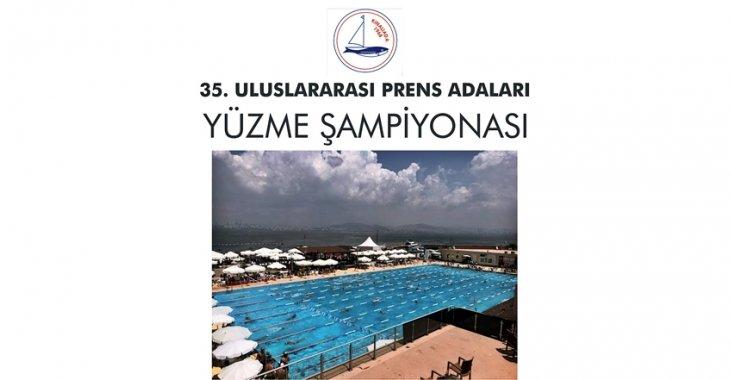 35. ULUSLARARASI PRENS ADALARI YÜZME ŞAMPİYONASI REGLAMANI!