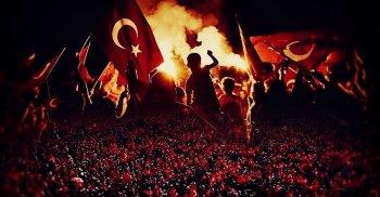15 TEMMUZ DEMOKRASİ VE MİLLİ BİRLİK GÜNÜMÜZ KUTLU OLSUN!