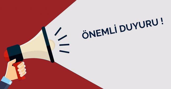 KULÜP VE ANTRENÖRLERİN DİKKATİNE!