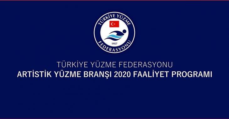 ARTİSTİK YÜZME BRANŞI 2020 FAALİYET PROGRAMI