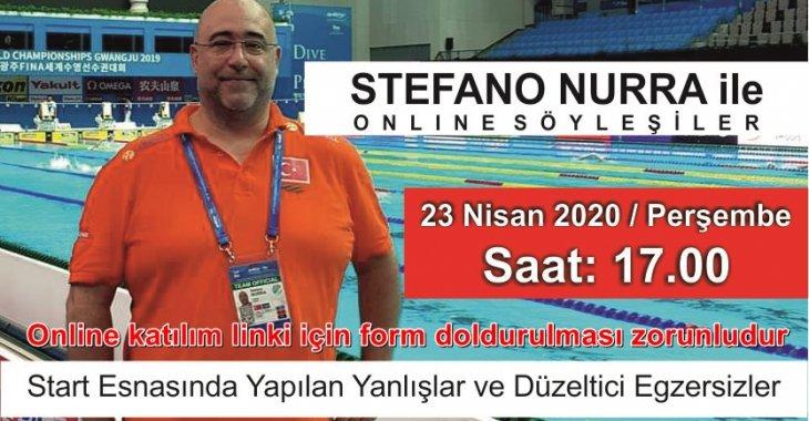 STEFANO NURRA İLE ONLİNE SÖYLEŞİ BUGÜN SAAT 17.00DA