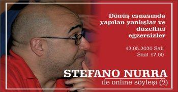STEFANO NURRA İLE ONLINE SÖYLEŞİ (2)