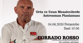 YÜZME BRANŞI KAYSERİ TOHM TEKNİK DİREKTÖRÜ CORRADO ROSSO İLE ONLINE SÖYLEŞİ!