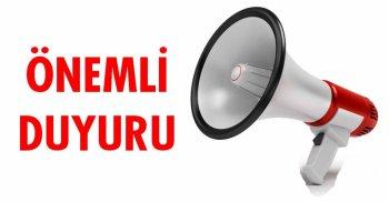 NORMALLEŞME SÜRECİ HAKKINDA DUYURU!
