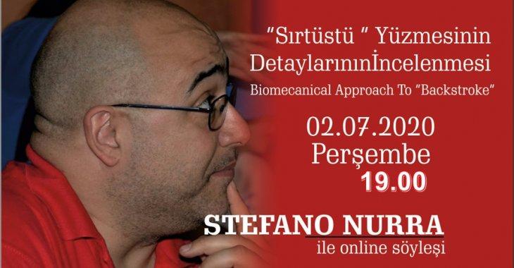 STEFANO NURRA İLE SIRTÜSTÜ YÜZME TEKNİĞİNİN DETAYLARININ İNCELENMESİ KONULU ONLINE SÖYLEŞİ!