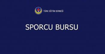 TÜRK EĞİTİM DERNEĞİ SPORCU BURSU DUYURUSU!