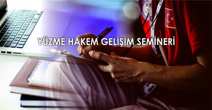 TYF - YÜZME HAKEMLERİ İÇİN ÖNEMLİ DUYURU!