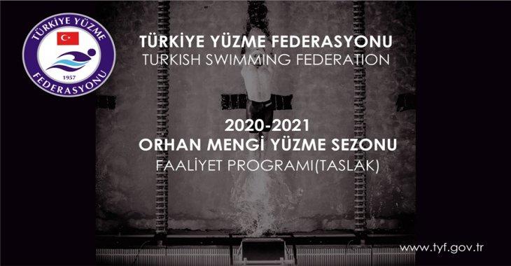 2020-2021 ORHAN MENGİ YÜZME SEZONU YÜZME FAALİYET PROGRAMI (GÜNCEL TASLAK)