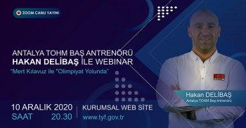TÜRKİYE YÜZME FEDERASYONU ONLINE WEBINAR!