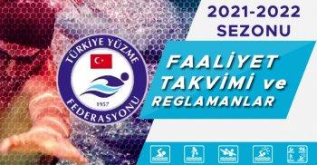 2021-2022 SEZONU YÜZME FAALİYET TAKVİMİ VE REGLAMANLARI YAYINDA!